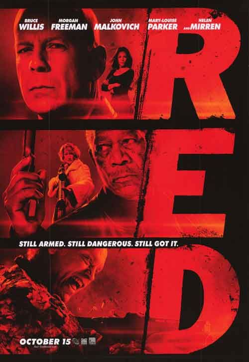 I started sprouting an avocado pit in a glass of water today and was reminded of RED. Love this movie.