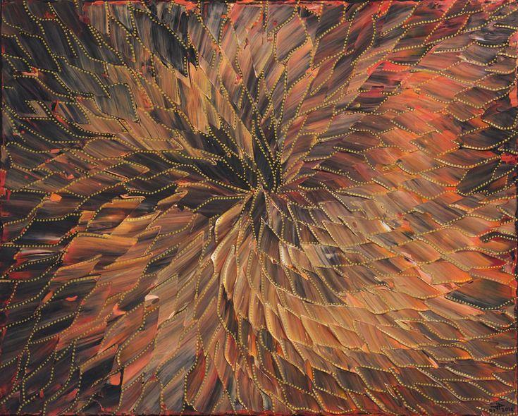 Titre de l'œuvre : Mouvement. œuvre réalisée à la peinture acrylique (au couteau) et au Posca sur châssis en bois entoilé en lin blanchi. Format de l'œuvre : 41 cm x 33 cm x 2 cm. Diagonale de l'œuvre : 52,6 cm. Poids précis de l'œuvre : 0,366 kg. Date de réalisation : 01 / 2016. Prix : 150 Euros (œuvre vendue). #art #mouvement #peinture #contemporaine #tableau #acrylique #posca #œuvre #abstraite #design