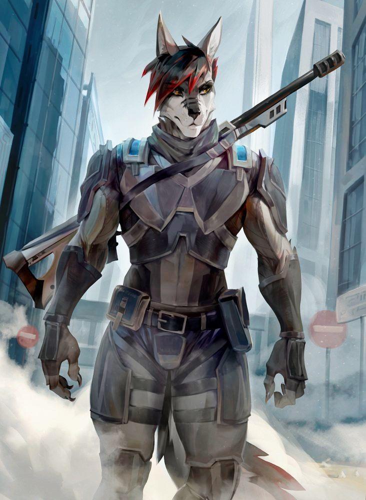 WereTiger2 by koutanagamori on DeviantArt | Fantasy
