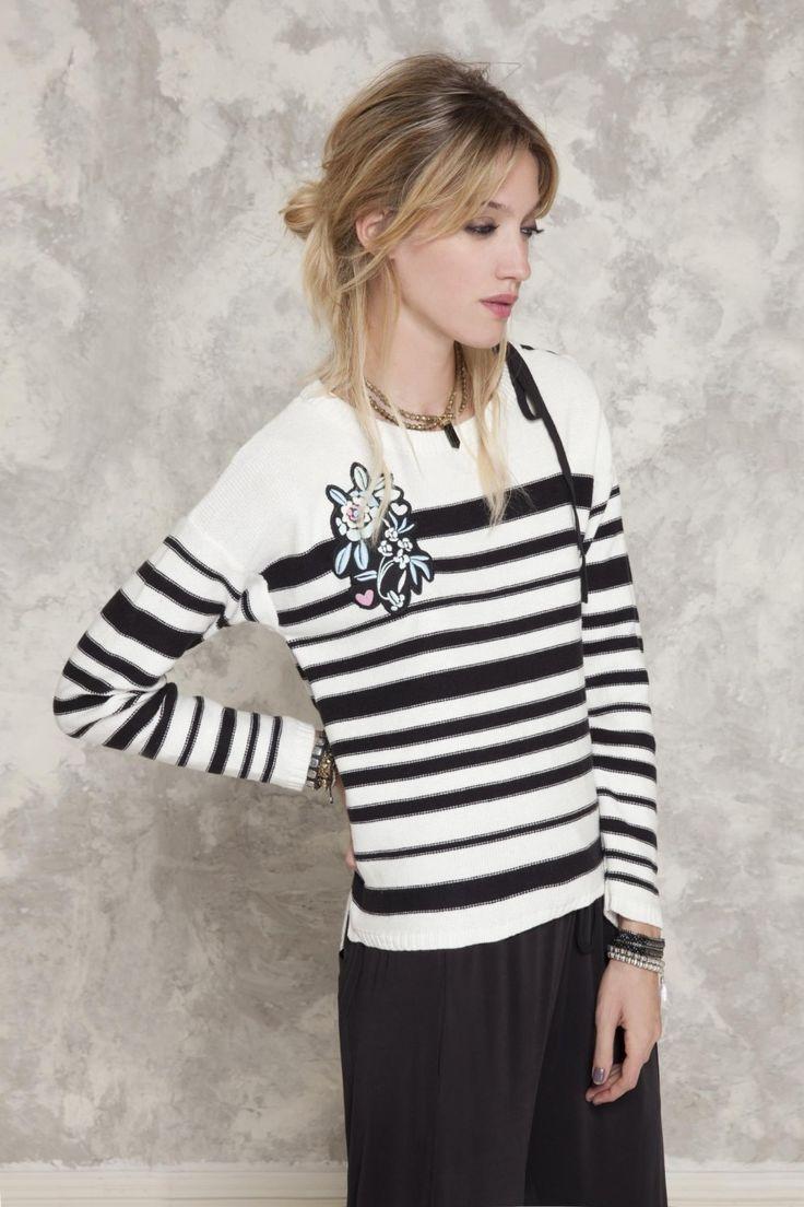 Sweater Clari Jacquard