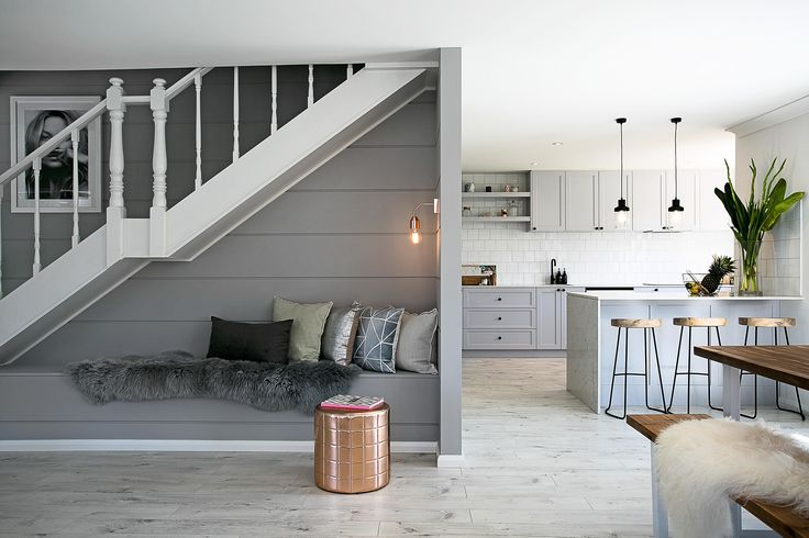 Making use of every nook! Three Birds Renovation inspiration - and this colour palette