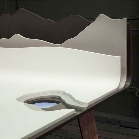 Amazing table I´ll dream of having. Personal landscape collection maxim velcovsky