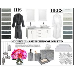 Modern Classic Bathroom For Two