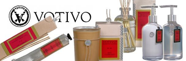Love the Votivo Candles-Red Current