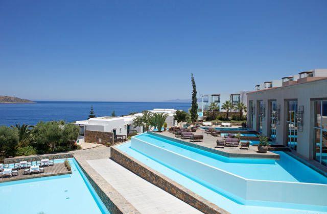 Hotel Elounda Village 5*, Crete, Crete, Grece avec Voyages Leclerc