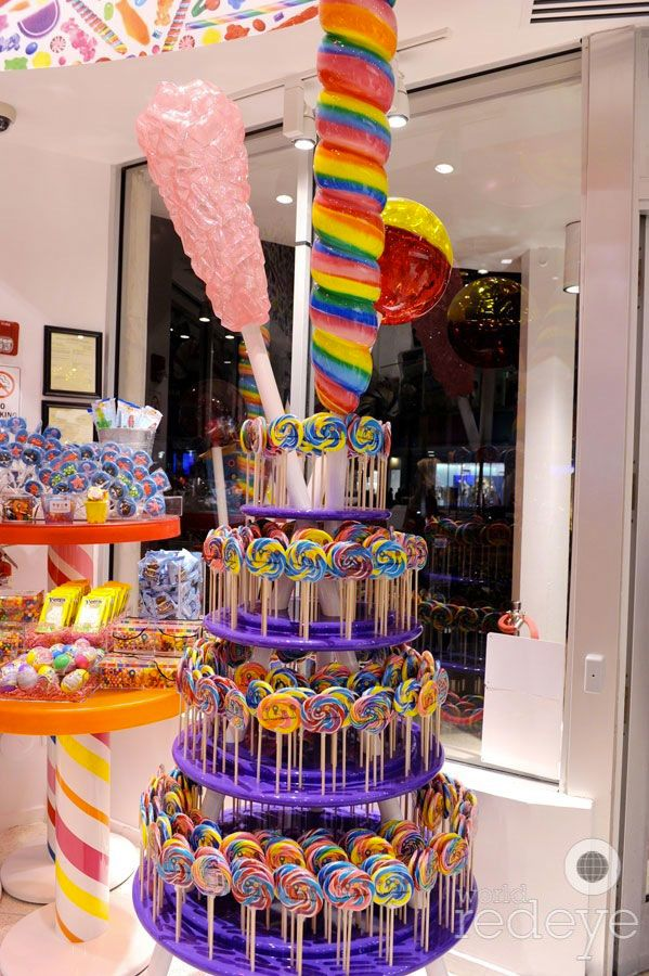 Dylan's candy bar <3. Duke and Molly got several items from here tonight.