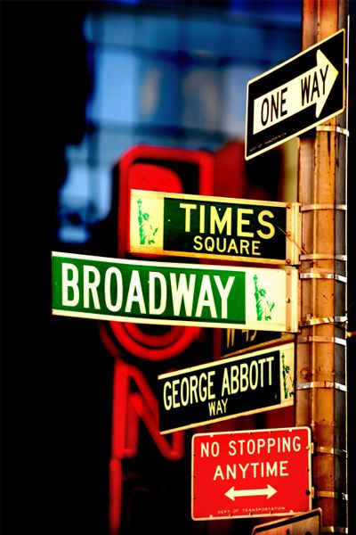 While you're in Times Square amid the neon lights, flashing Jumbotrons, giant ruby-red stairs, and guitar-strumming Naked Cowboy, get in line for discounted Broadway show tickets at the TKTS booth.