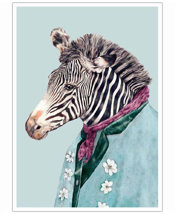 Zebra VON Animal Crew now on JUNIQE!