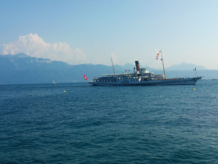 Switserland lake Lausanne