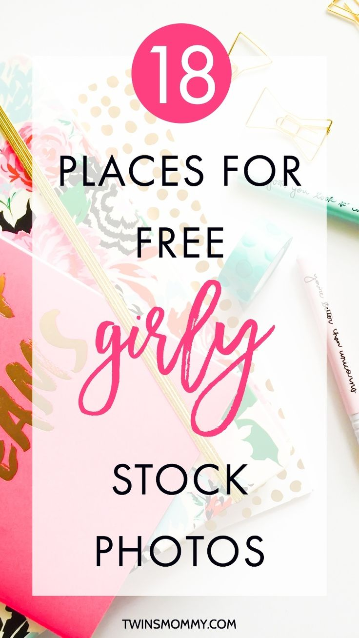 18 Places for Free Girly and Styled Stock Photos