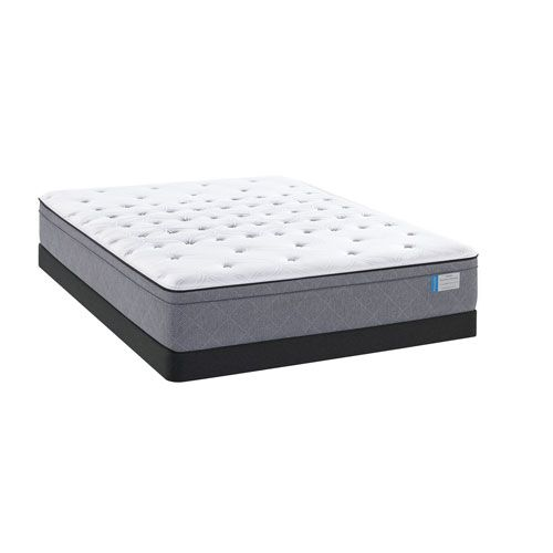Posturepedic Drover Plush Eurotop  Low Profile Full Mattress Set - (In No Image Available)