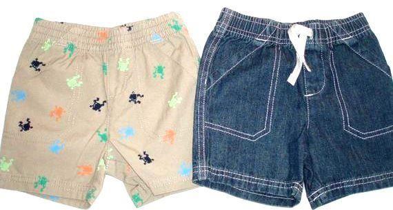 Сшить шорты для мальчиков