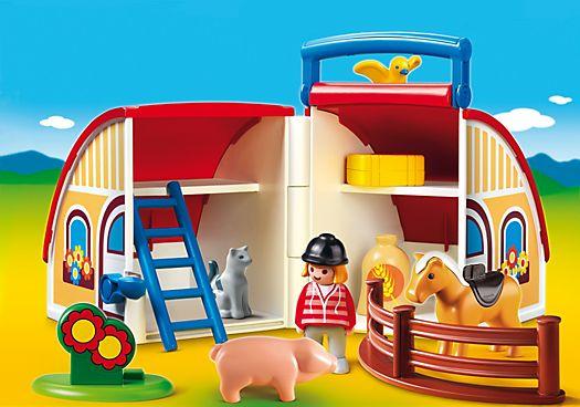 1.2.3 Take Along Barn - PM USA PLAYMOBIL® USA