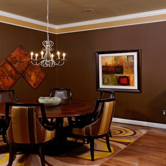 17 Best Ideas About Dining Wall Decor On Pinterest: 17 Best Ideas About Brown Dining Rooms On Pinterest