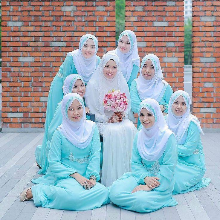 photo by arif # muslim bridesmaids