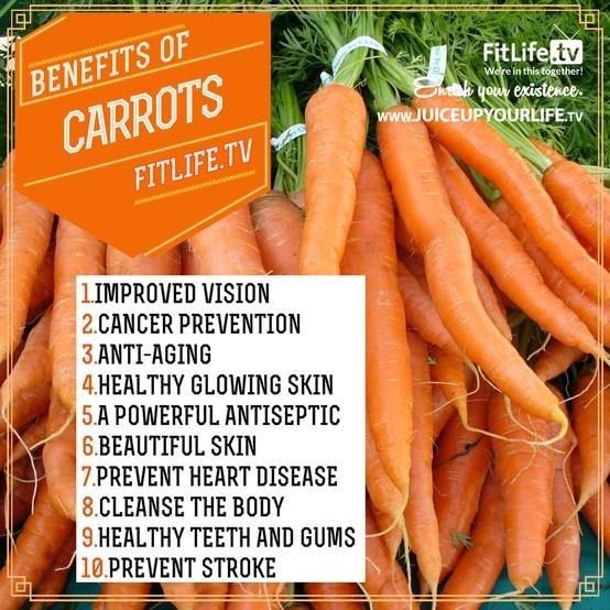 Benefits Of Carrots Infographics Pinterest Carrot