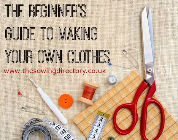 Guide to dressmaking for new sewers