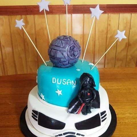 #StartWars #fondant #cake by Volován Productos  #instacake #Chile #puq #VolovanProductos #Cakes #Cakestagram