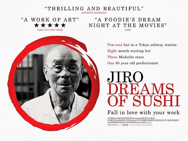 Jiro Dreams of Sushi follows Jiro Ono, one of the worlds greatest sushi chefs, at his little three-star Michelin sushi bar located in a Tokyo subway.