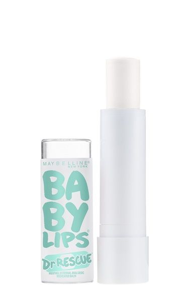 Baby Lips Dr Rescue® Medicated Lip Balm - Sore lips are rescued instantly – achieve visible lip renewal within 60 seconds! Moisture is sealed in for 12 hours.