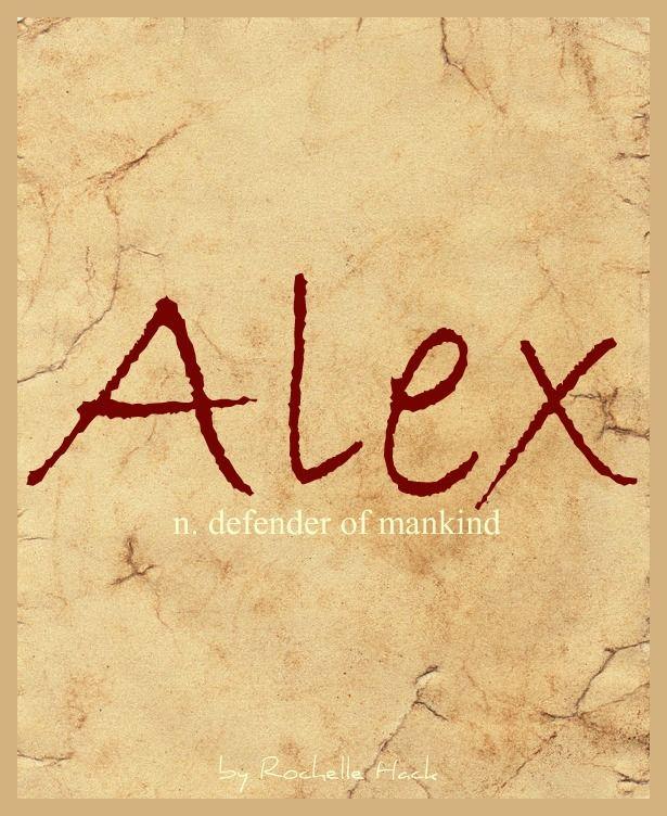 Baby Girl or Boy Name: Alex. Meaning: Defender of Mankind. Origin: Greek. https://www.pinterest.com/vintagedaydream/baby-names/