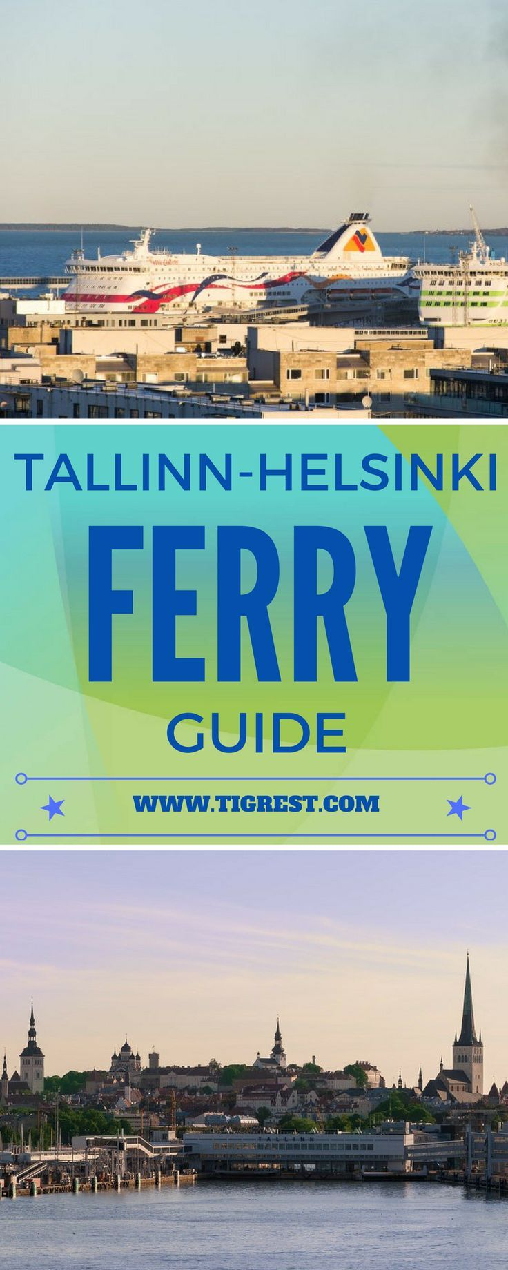 Ferry Tallinn-Helsinki - the easiest way to get from one capital to the other. Find out how to book, how much are the tickets and much more
