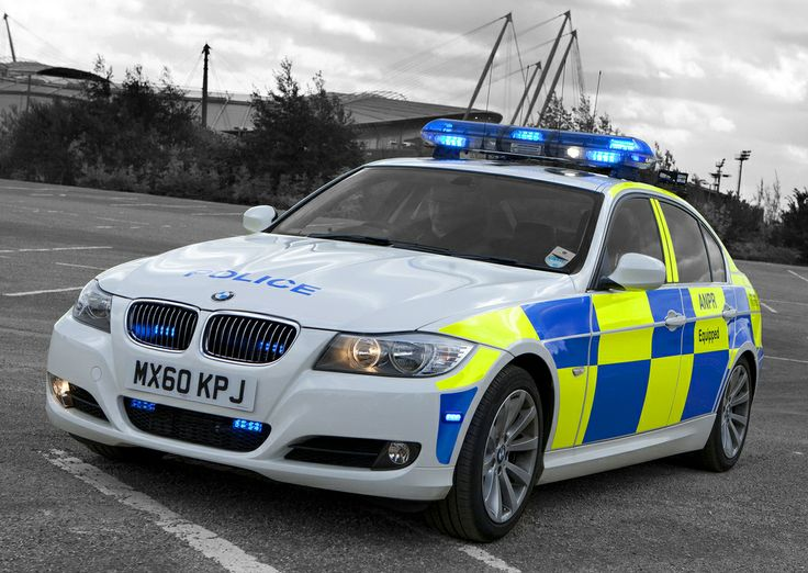 A Greater Manchester Police ANPR equipped BMW traffic patrol car pictured close to the Etihad Stadium, home of Manchester City Football Club. The dramatic structure, formerly the City of Manchester Stadium, was built to stage events when Manchester hosted the Commonwealth Games in 2002. www.gmp.police.uk