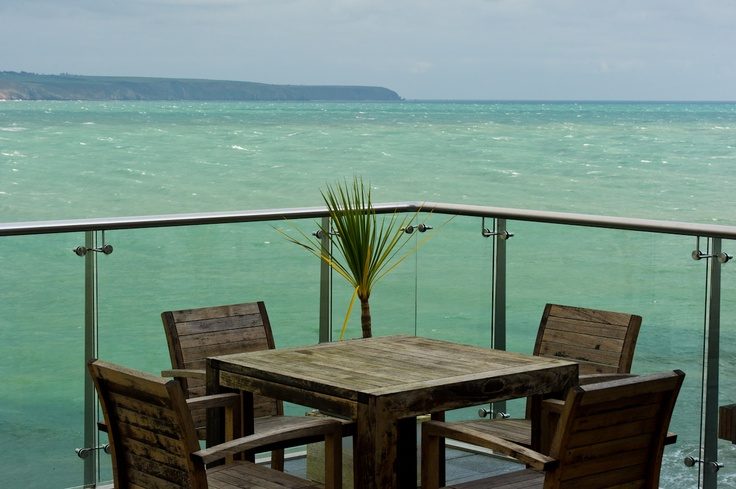 Green green sea at Cliff House: Green Sea, Cliff House, House Hotels, Green Green, Chateaux Hotels