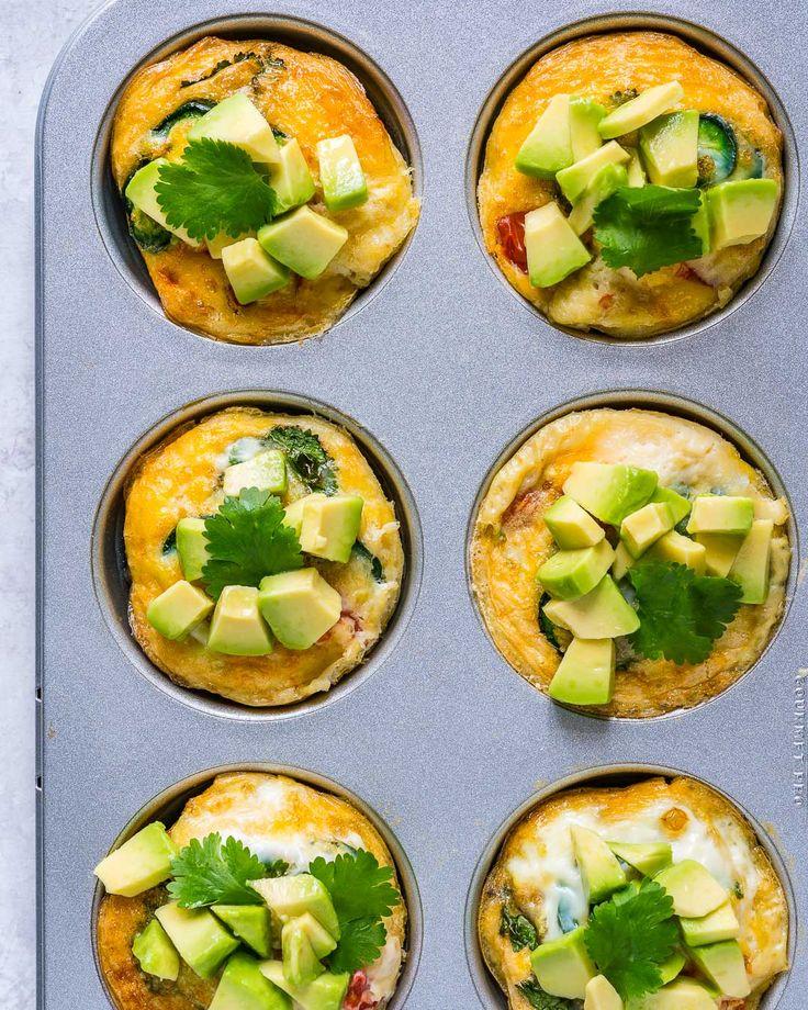 Spicy Southwestern Egg Breakfast Muffins (Easy Meal Prep Idea!) - Clean Food Crush