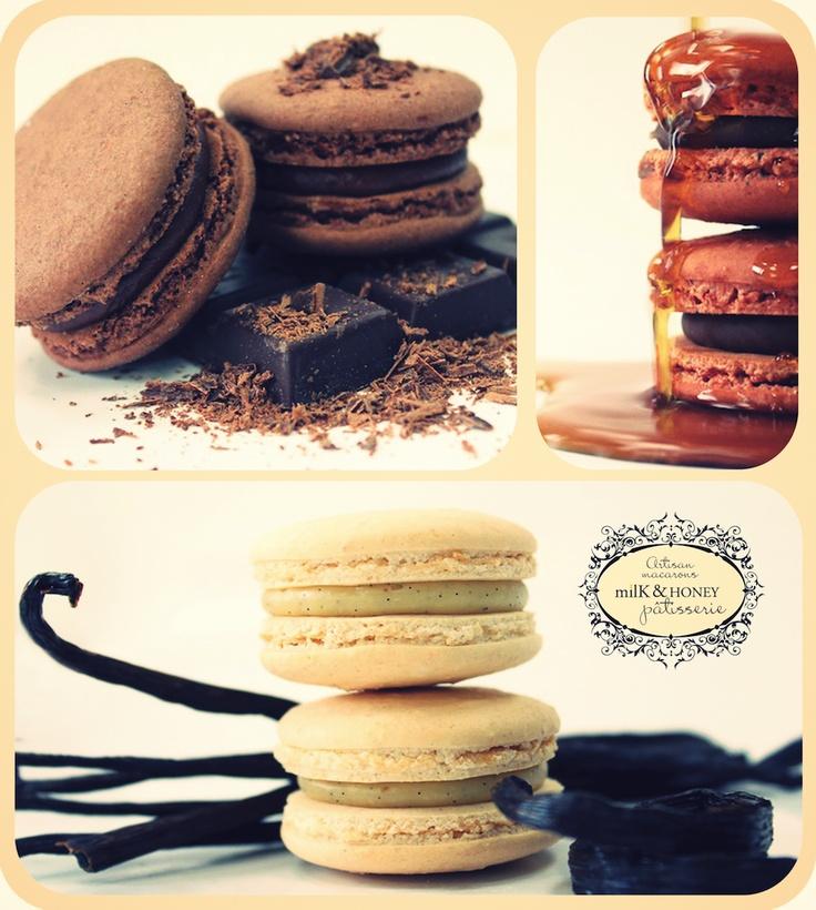 Macaroons by milK & HONEY Pâtisserie  #macaroons