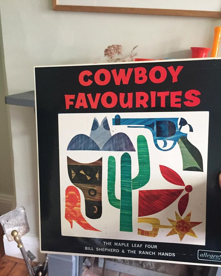 Whenever I walk past the Sue Ryder shop in Hockley I can't resist popping in... love this record cover (amount other things bought) -Cowboy Favourites! . . . #sueryder #suerydercharity #records #vinyl #hockley