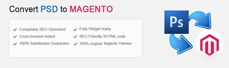 why us to convert PSD to Magento