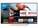 """Smart TV LED 65"""" Sony 4K/Ultra HD KD-65X7505D - Conversor Digital Wi-Fi 4 HDMI 3 USB DLNA"""