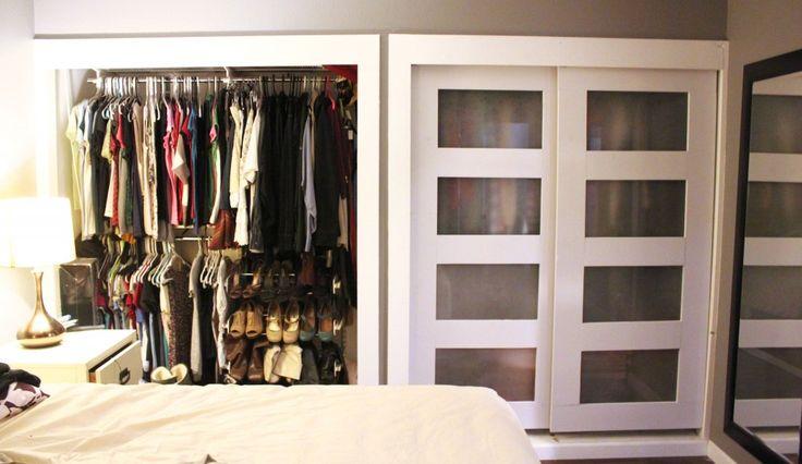 Step by step... how to make custom sliding closet doors