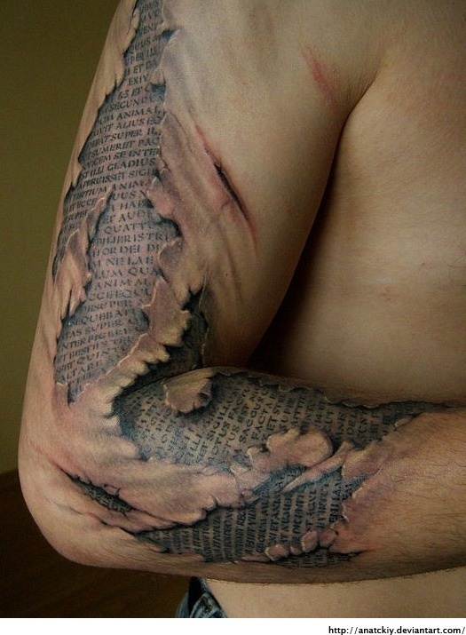 Now THATs a crazy tattoo