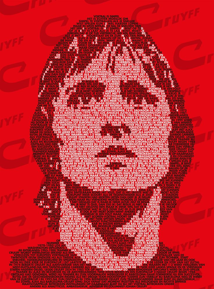 Johan Cruijf Story of Heroes His football biography and his famous statements