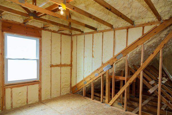 How To Install Rigid Polyurethane Foam Board Insulation In 2020 Foam Insulation Board Energy Efficient Homes Home Insulation