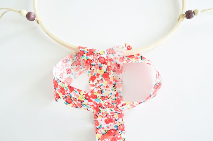 Scrap Fabric Baby Mobile Tutorial