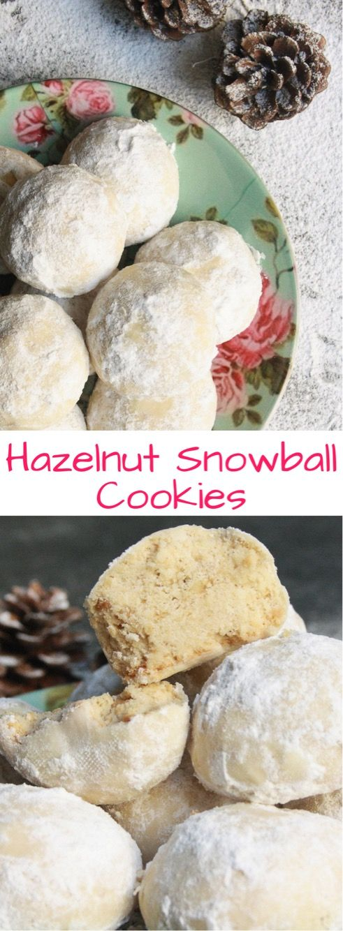 Buttery hazelnut cookies rolled in sugar will be the cutest thing on your festive table!