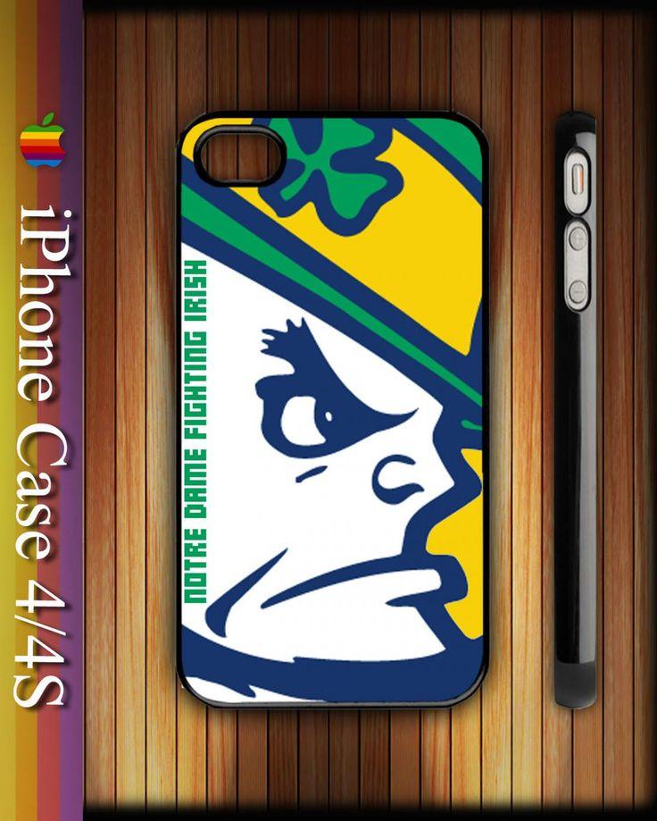 Notre Dame Fighting Irish Leprechaun Apple iPhone 4/4S Hard Case