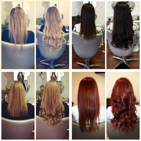 72 Best Hair Extensions Before And After Images On Pinterest Hair