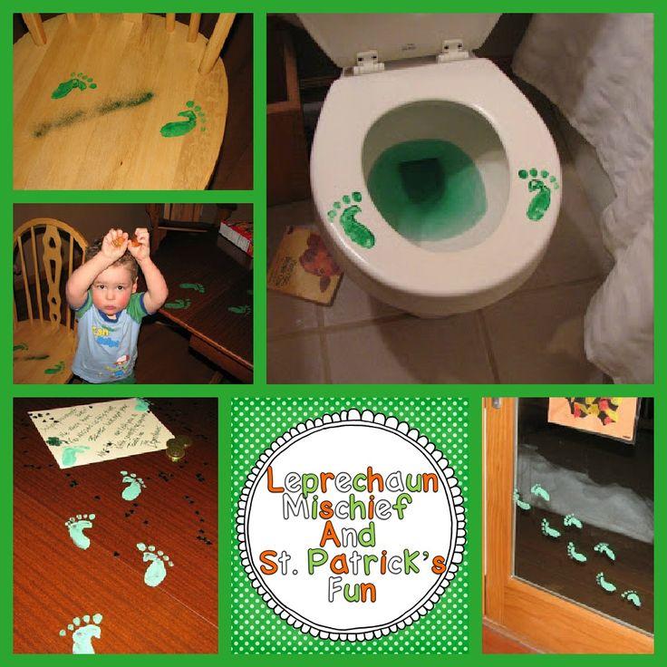 A Differentiated Kindergarten: Leprechaun Mischief and . . . a little Freebie!