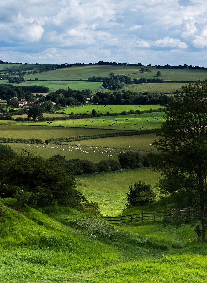 Lincolnshire Wolds No wonder it's an area of outstanding natural beauty.