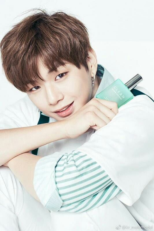 Wanna One - Kang Daniel X Clean Perfume