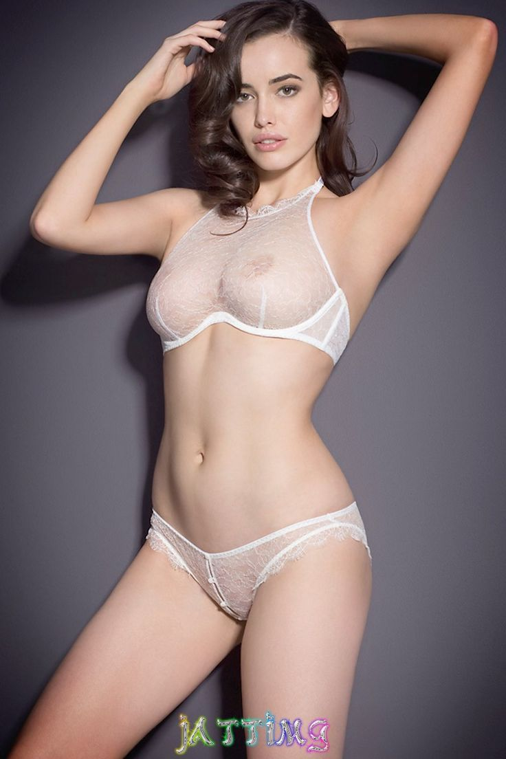 Opinion Girl see through lingerie