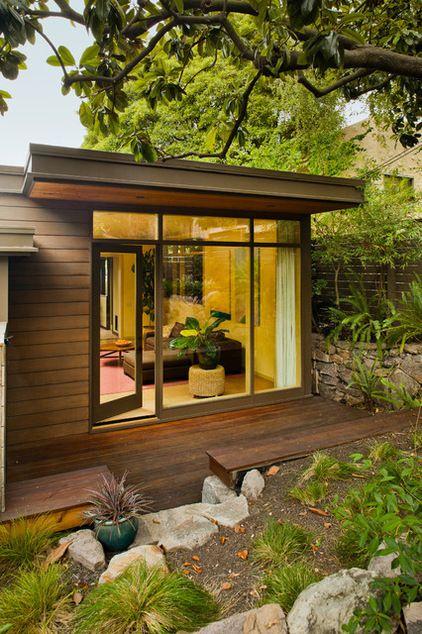 Modern Exterior by Koch Architects, Inc.  Joanne Koch