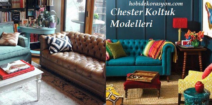 Dekoratif Chester Koltuk Kanepe Modelleri - Chesterfield Koltuklar http://www.hobidekorasyon.com/dekoratif-chester-koltuk-kanepe-modelleri-chesterfield-koltuklar/