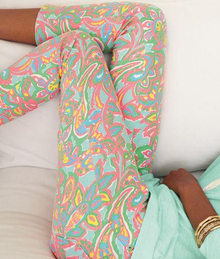 Lilly Pulitzer pastel leggings