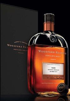 "Woodford Reserve VIP Bourbon (Honorah, ""Bourbon? Of course."")"