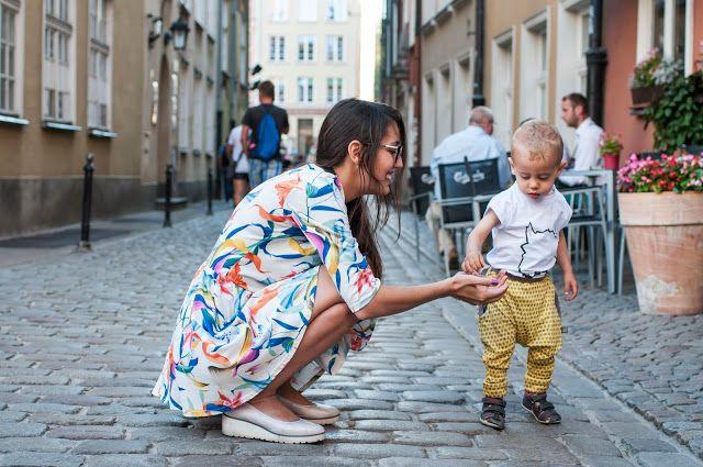 Loff Loff organic - Unisex toddler harem pants SPACE INVADERS + creative kids t-shirt FELLOW. For kids aged 2-10.  Check our Etsy shop https://www.etsy.com/shop/LoffLoff  Photo © http://modelsoutfit.pl